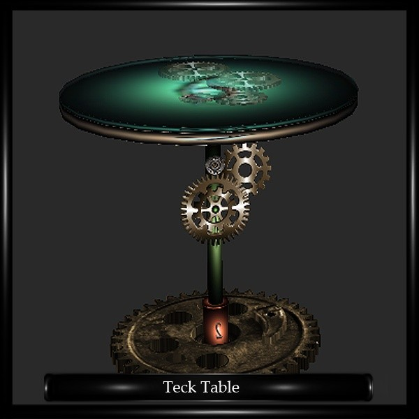 Steampunk Table Mesh