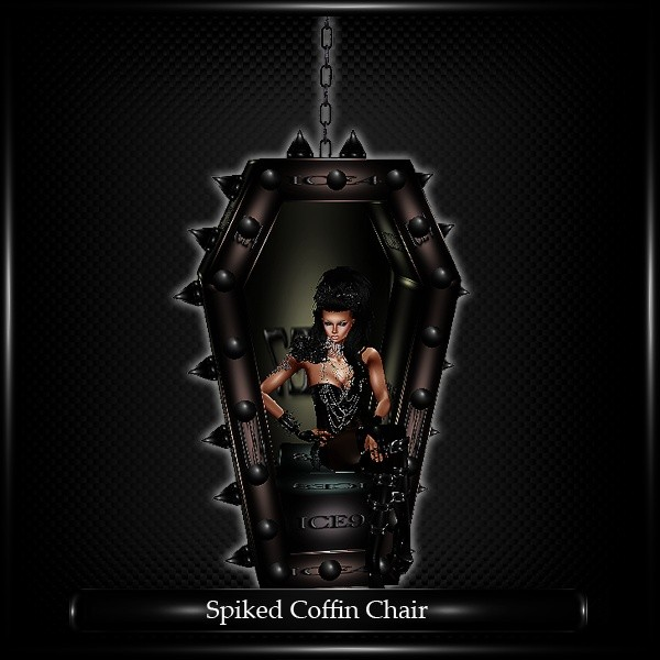 Spiked Coffin Chair Mesh
