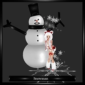 Snowman Freebie