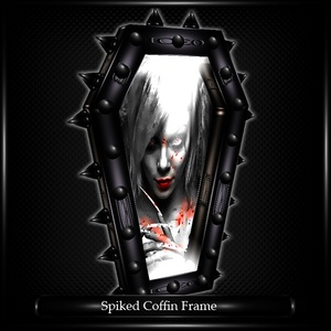 Spiked Coffin Frame Mesh