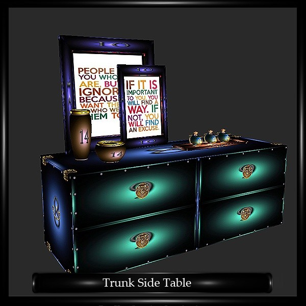 Trunk side Table Mesh