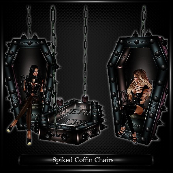 Spiked Coffin Chairs Mesh