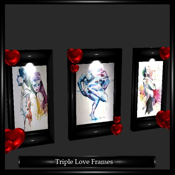 Triple Love Frames Mesh