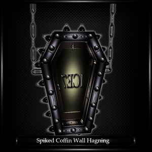 Spiked Coffin Wall Hagning Mesh