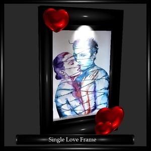 Single Love Frame Mesh