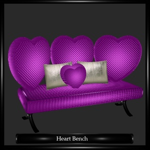 Heart Bench Mesh