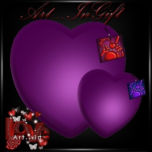 Tagged Hearts Gift