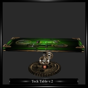 Steampunk Table Mesh v.2