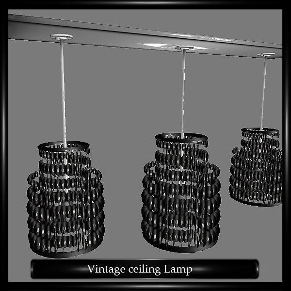 Retro ceiling Lamp Mesh
