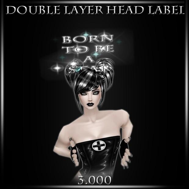 Head Label Mesh