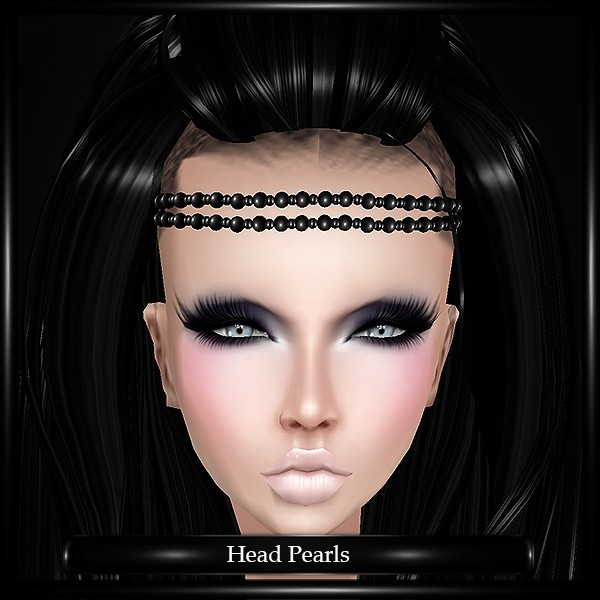 Head Pearls Mesh