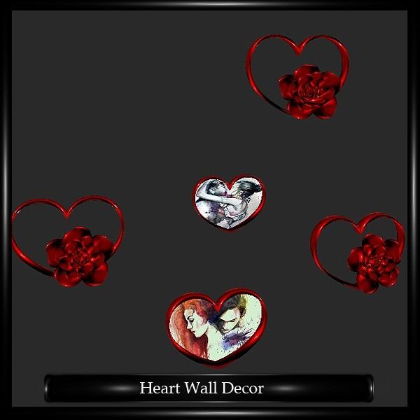 Heart Wall Decor Mesh