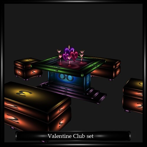 Valentine Club Set Mesh