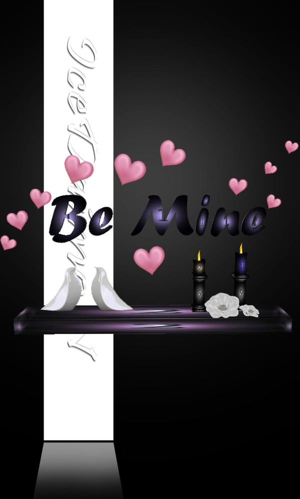 Be Mine Decorative Shelf
