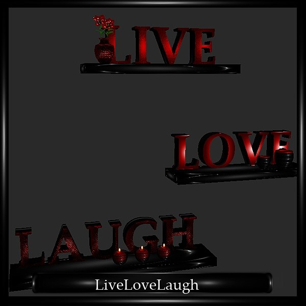 Live Love Laugh Mesh