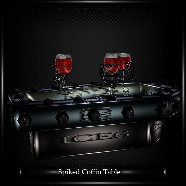 Spiked Coffin Table Mesh