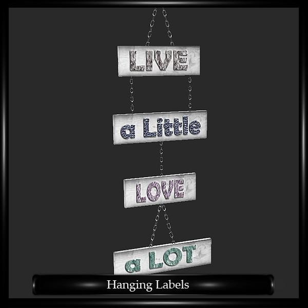 Hanging Labels Mesh