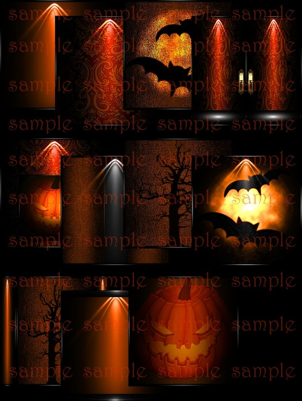 Halloween Pumpkin textures WITH RESELL RIGHTS