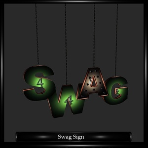 Swag Sign Mesh