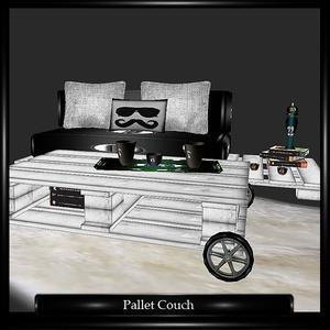 Pallete Couch Mesh