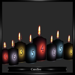 Candles Mesh