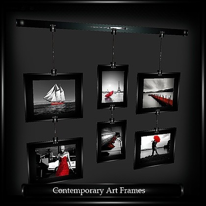 Contemporary Picture Frames Mesh