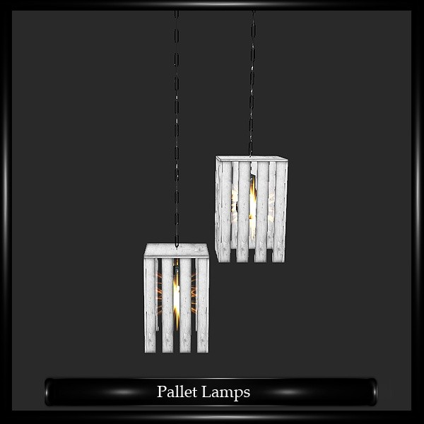Pallete Lamps Mesh