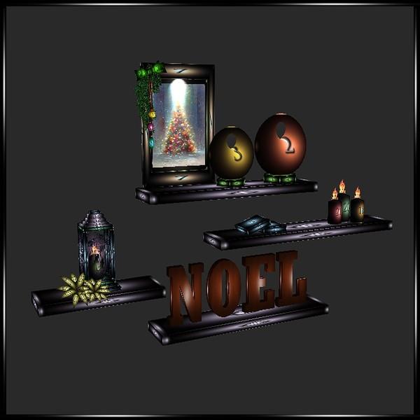 Noel shelves