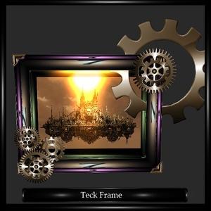 Steampunk  Frame Mesh