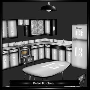 Retro Kitchen Mesh
