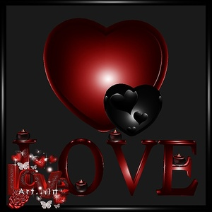 Love Wall Decor Mesh