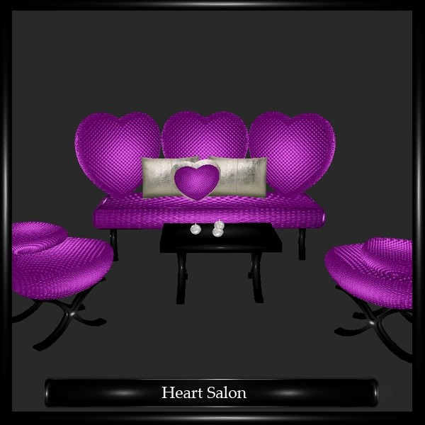 Heart Salon Mesh