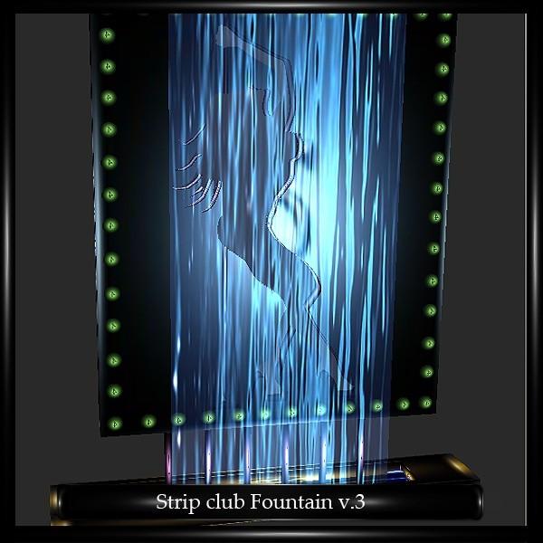Strip Club Fountain Mesh V.3