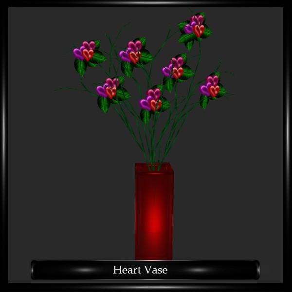 Heart Vase Mesh