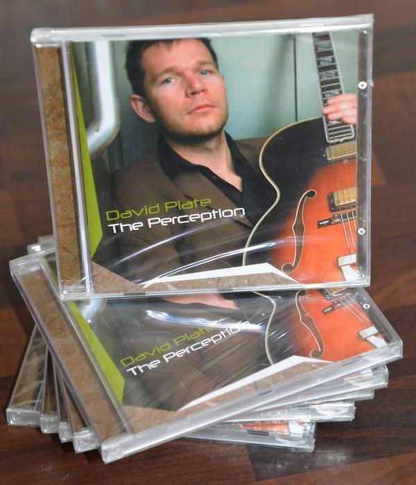 David Plate THE PERCEPTION (CD)