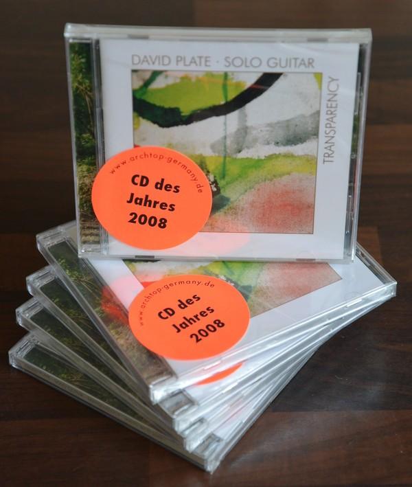 David Plate TRANSPARENCY (CD)