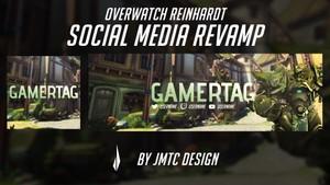 Overwatch Reinhardt (Griefhardt) Social Media Revamp