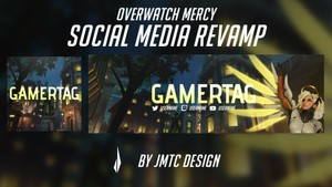 Overwatch Mercy Social Media Revamp