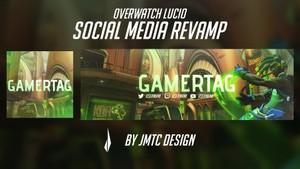 Overwatch Lucio Social Media Revamp