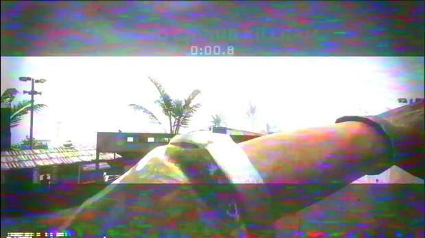 VHS overlay