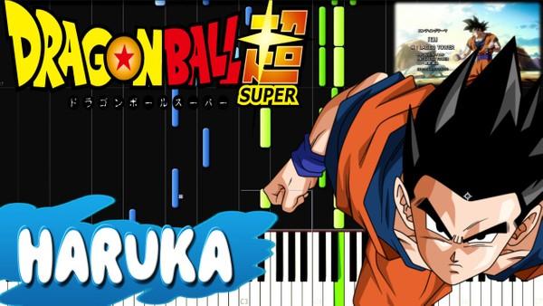 Dragon Ball Super - Haruka (Ending 9) [PIANO MIDI]