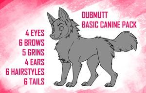DubMutt Basic Canine Pack