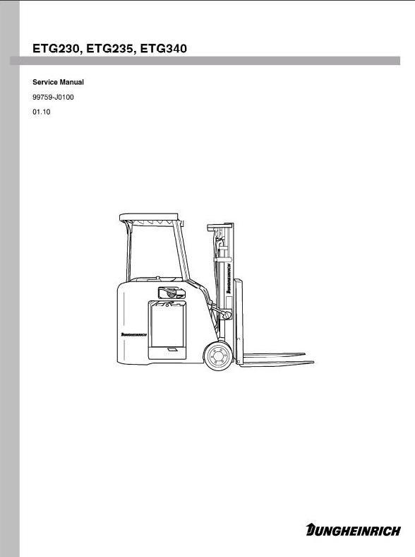 jungheinrich service manual
