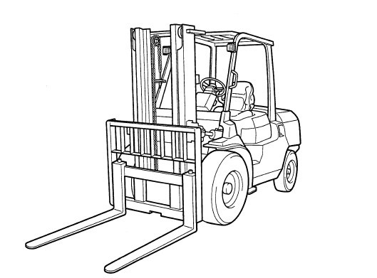 Toyota Forklift 7FD/FG 35-50 Service Repair Manual Dow