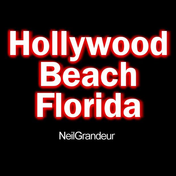 Hollywood Beach Florida by NeilGrandeur