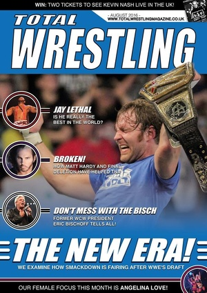 Total Wrestling Magazine August 2016