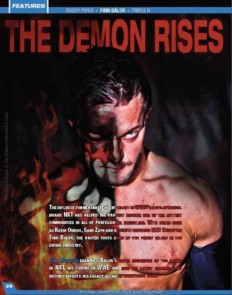 Total Wrestling Magazine August 2015