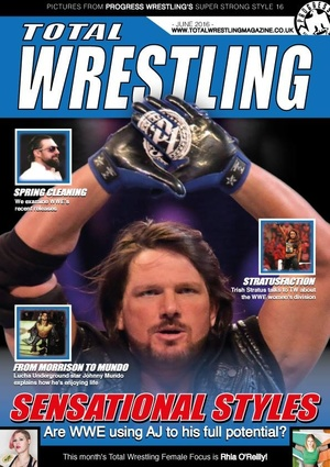 Total Wrestling Magazine June 2016