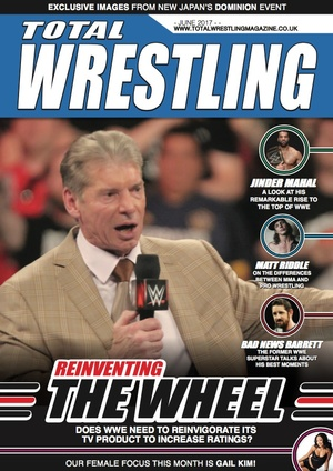 Total Wrestling Magazine June 2017