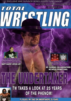 Total Wrestling Magazine December 2015